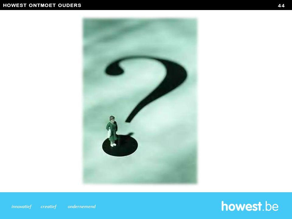 HOWEST ONTMOET OUDERS 44 innovatiefcreatiefondernemend