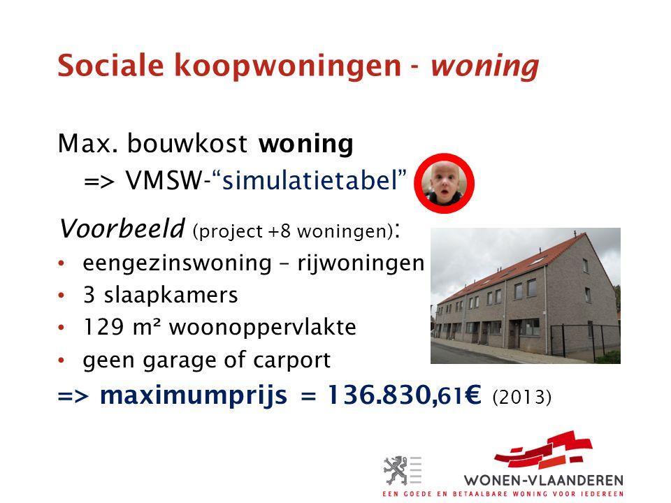 Sociale koopwoningen - woning Max.