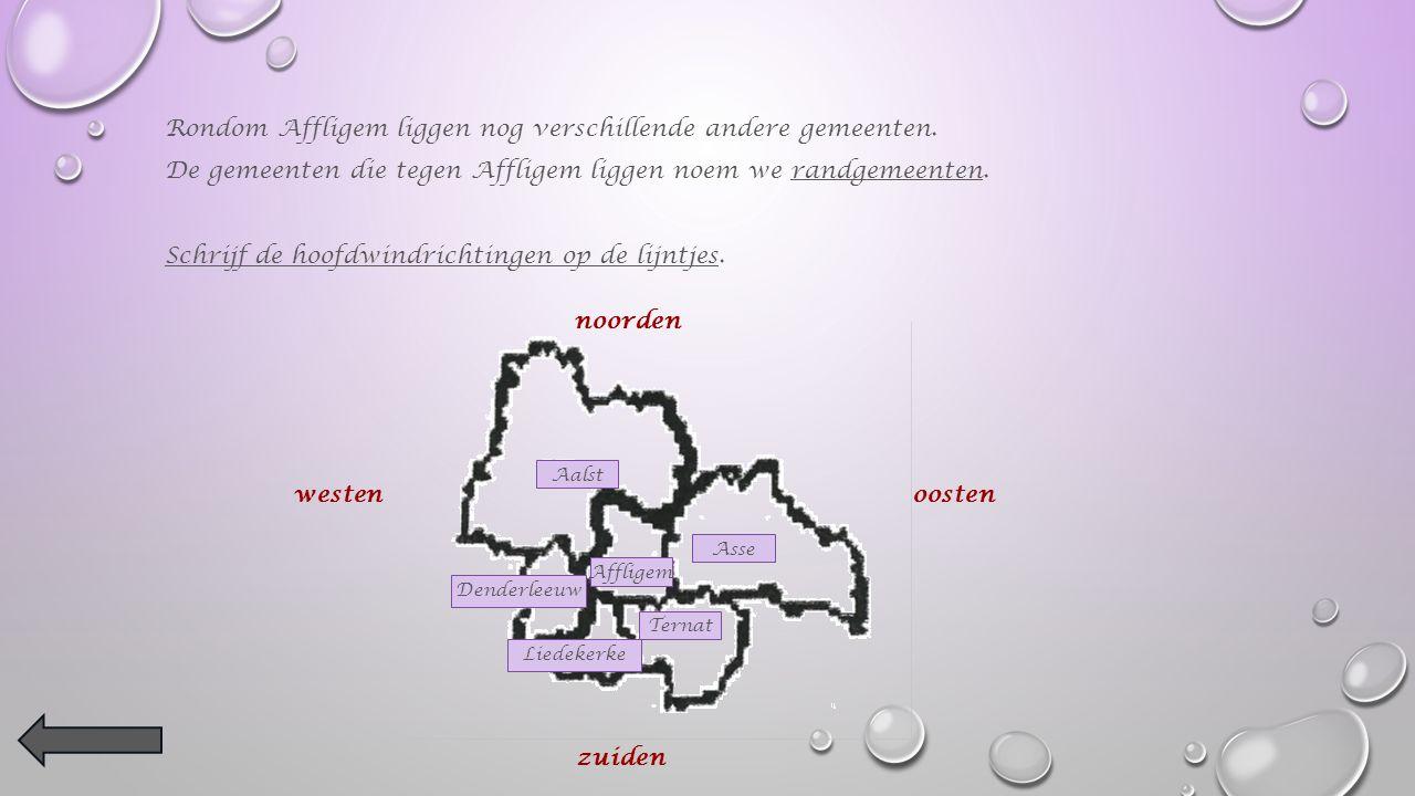 Vind je Affligem ook op de kaart van België Kleur ons dorp oranje !