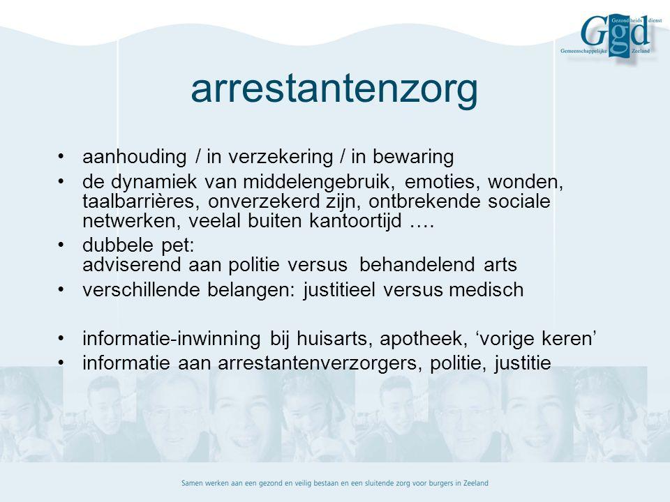casuïstiek arrestantenzorg verkregen justitiële informatie: wat doe je ermee.