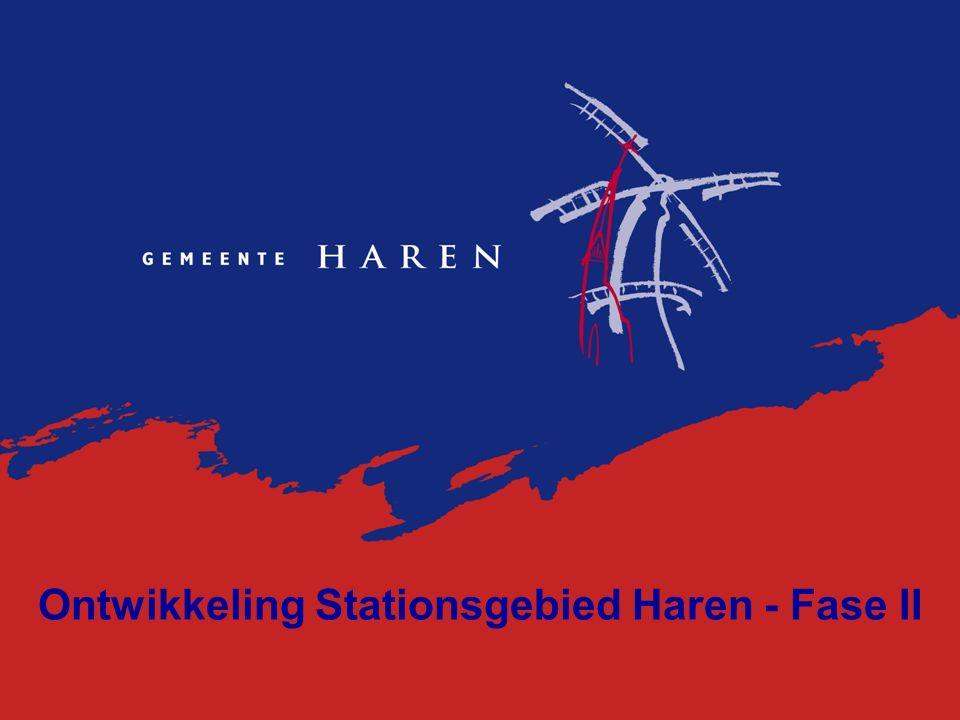 Ontwikkeling Stationsgebied Haren - Fase II