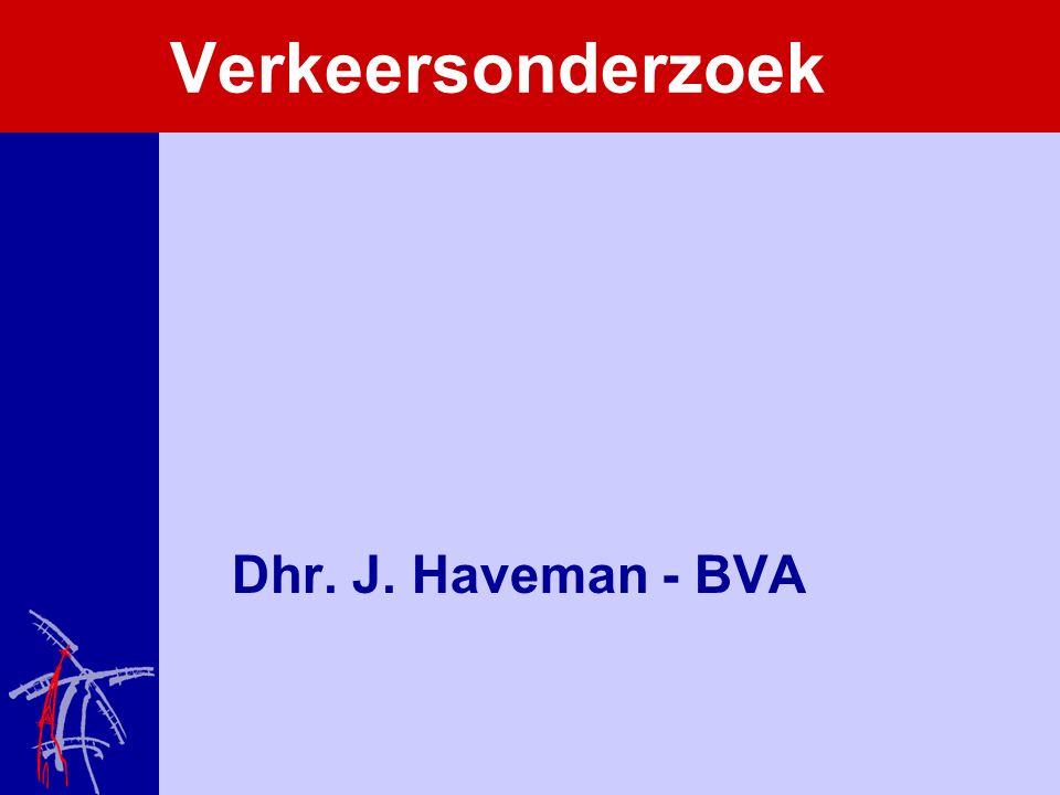 Verkeersonderzoek Dhr. J. Haveman - BVA