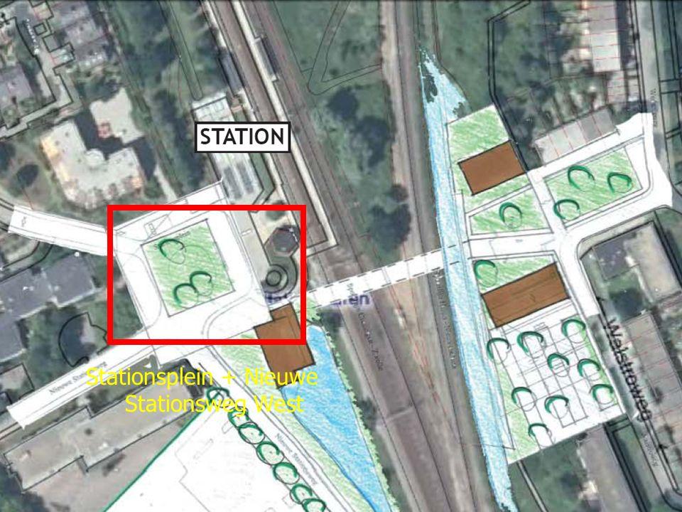 Stationsplein + Nieuwe Stationsweg West