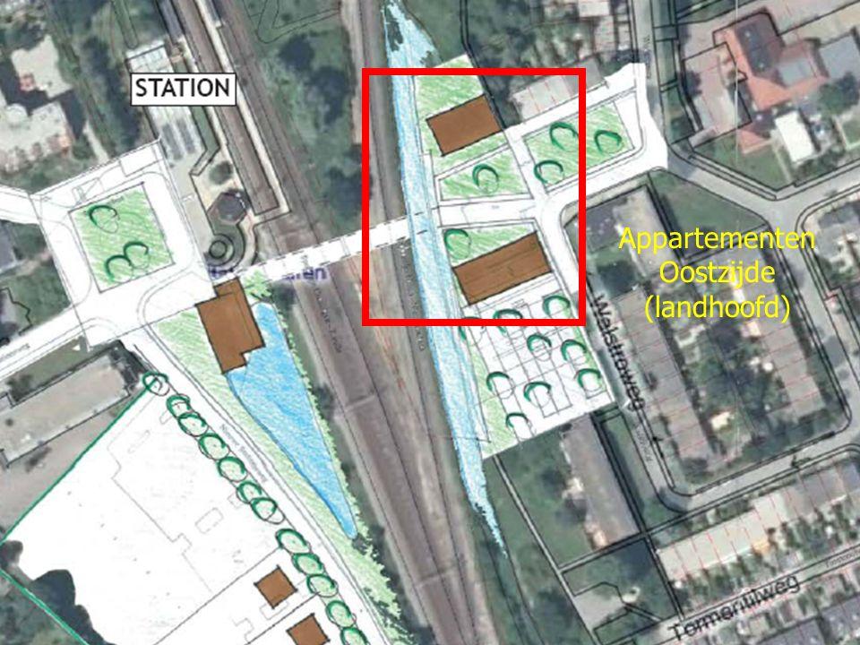 Appartementen Oostzijde (landhoofd)