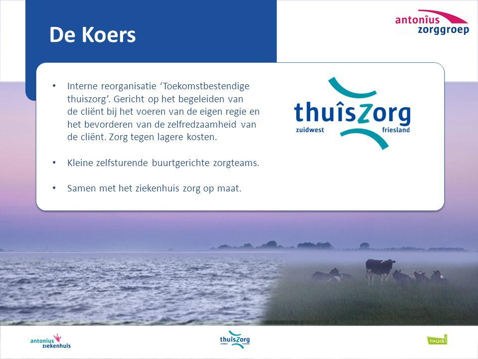De Koers Interne reorganisatie 'Toekomstbestendige thuiszorg'.