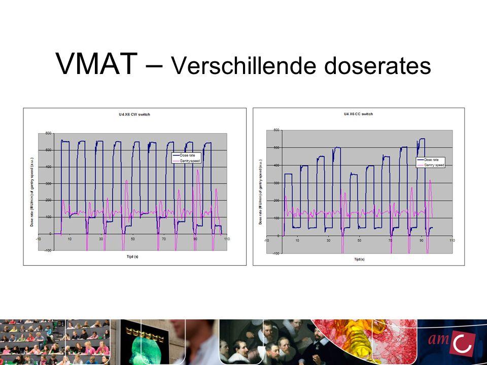 Switch test Ivm massa vd Gantry pogen wij om de Gantrysnelheid zo constant mogelijk te houden.