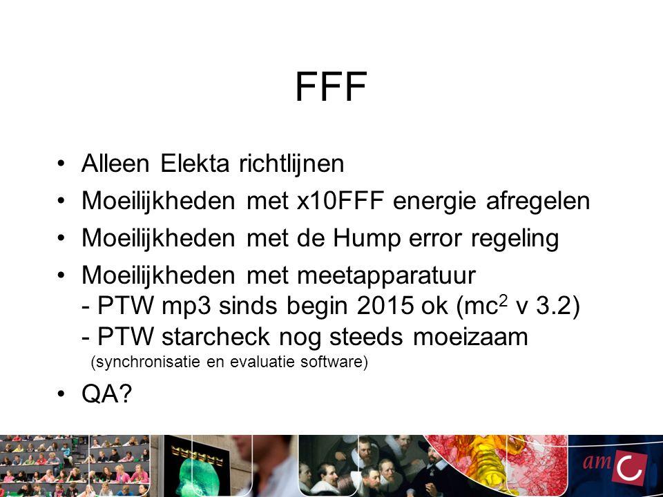 FFF Flattening Filter Free