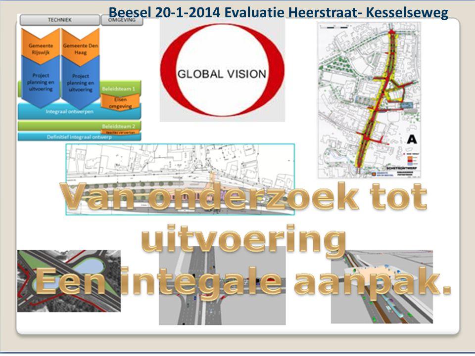 A1 - Startoverleg, 15 januari 2013, Arnhem Beesel 20-1-2014 Evaluatie Heerstraat- Kesselseweg