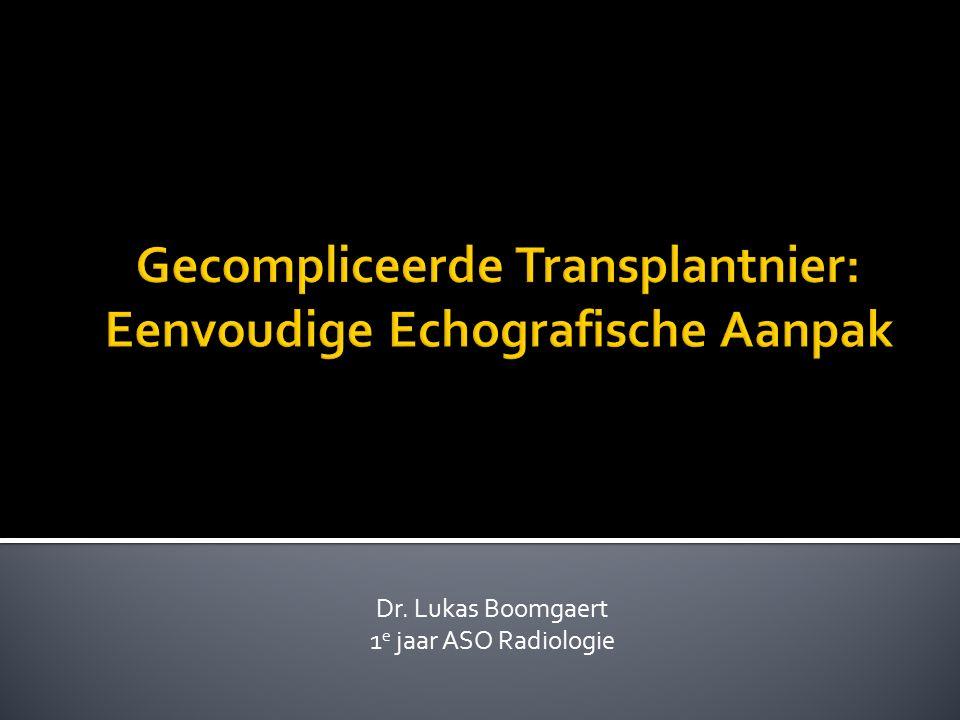 Dr. Lukas Boomgaert 1 e jaar ASO Radiologie