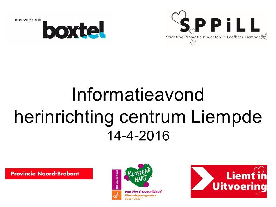 Informatieavond herinrichting centrum Liempde 14-4-2016