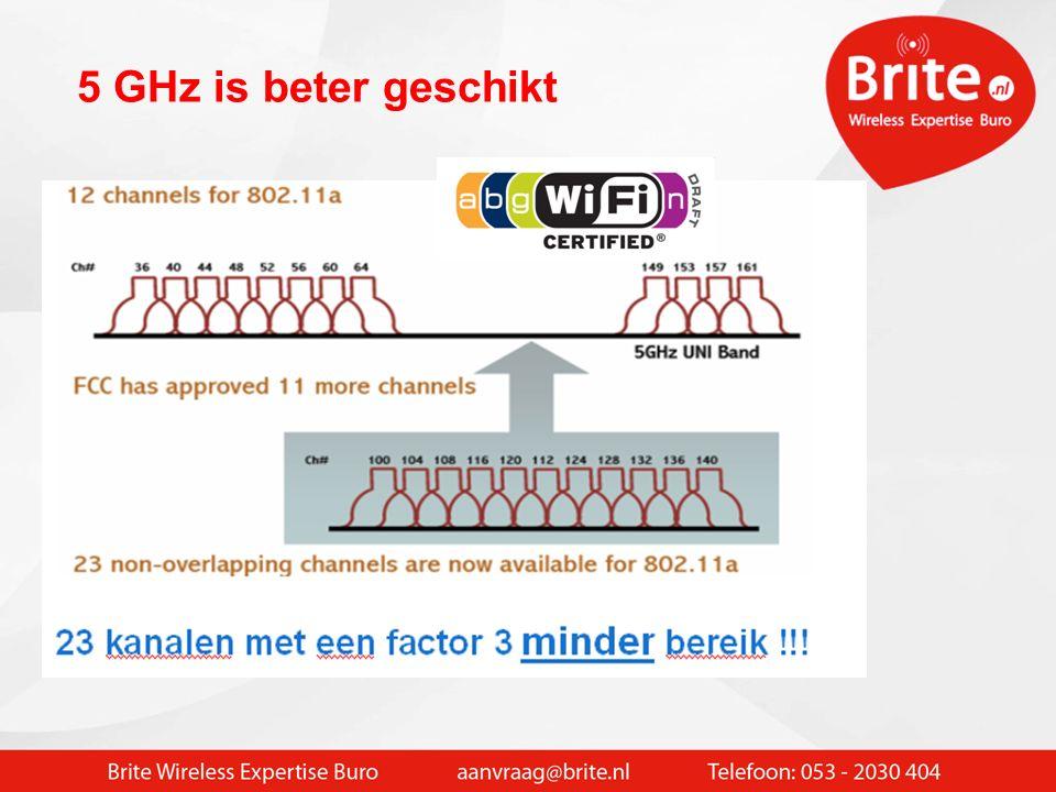 Wifi radiocellen 802.11B/G/N 2.4 GHZ 3 kanalen beschikbaar  15 - 20 users / AP Globale dekking of klassikaal (meer AP 's nodig)