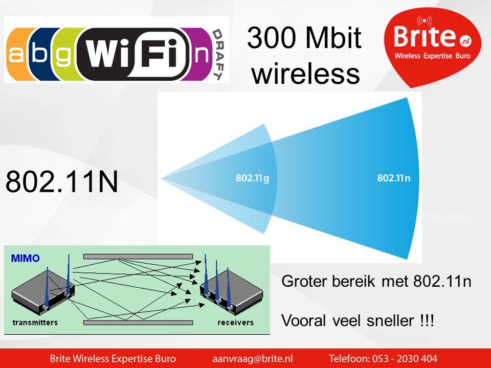 5 GHz is beter geschikt