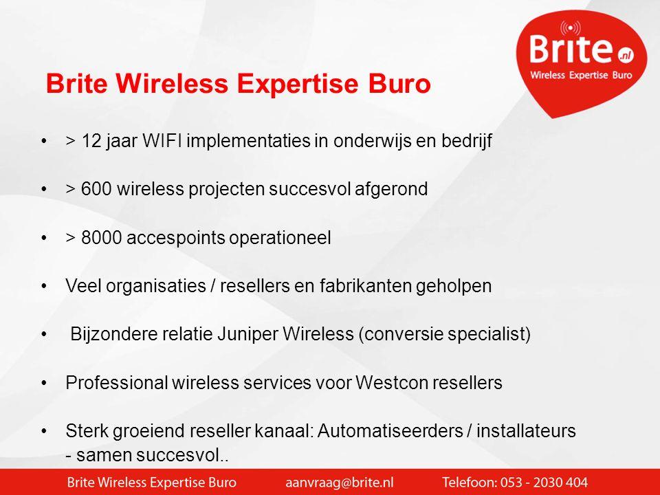 Gert Snijders: Wireless / Radio-specialist > 30 jaar actief met wireless systemen > 20 jaar ICT adviseur netwerkinfrastructuur > 12 jaar ervaring WIFI implementaties / Wifi specials > Oprichter Brite Wireless Expertiseburo Even voorstellen…