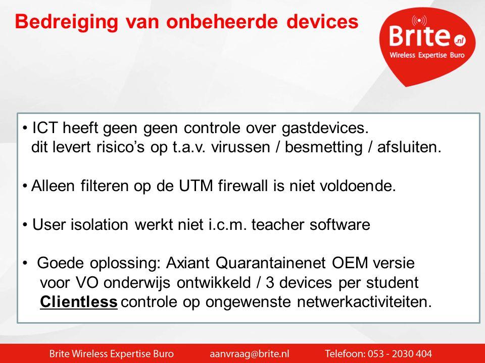 Veel devices zijn niet 5 GHz geschikt Netbooks / Smartphones werken vaak niet op 5 GHz Problemen met veel low cost notebooks met Intel wireless Geen b