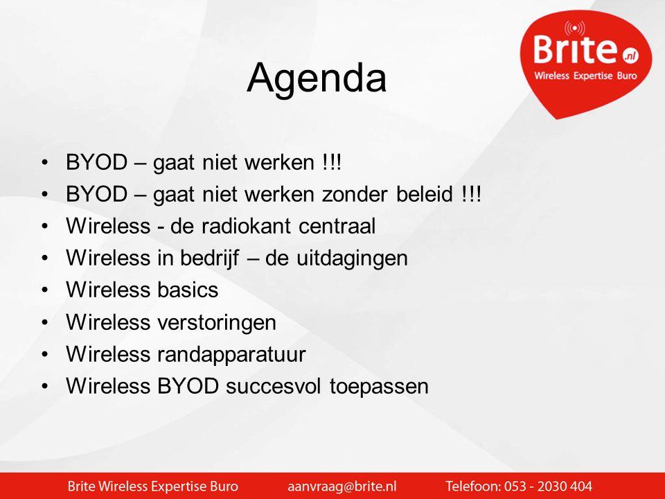 Brite Wireless Expertise Buro > 12 jaar WIFI implementaties in onderwijs en bedrijf > 600 wireless projecten succesvol afgerond > 8000 accespoints ope