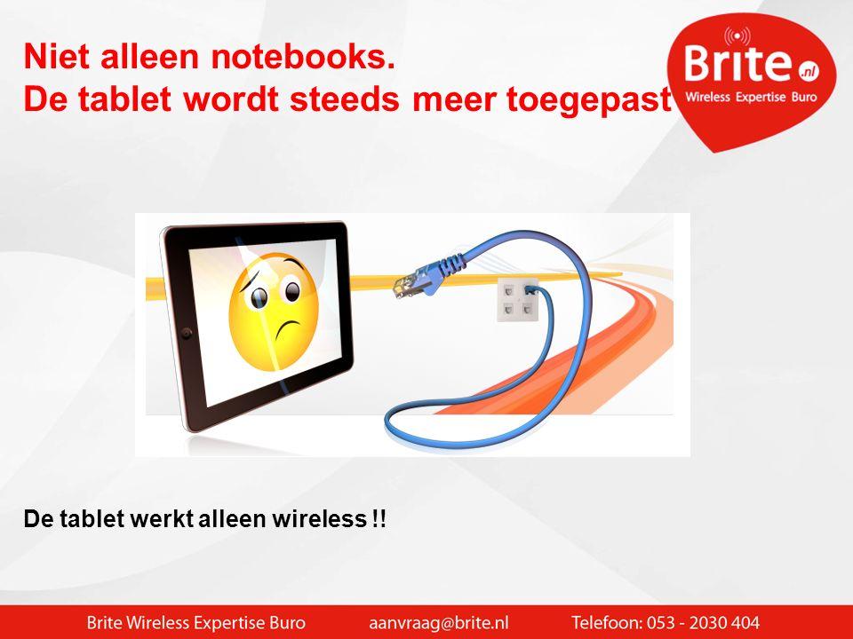 WIFI in de school  Het computerlokaal komt naar elke les ipv andersom Onderscheiden verschillende invalshoeken: > Notebooks voor leerlingen (karren 