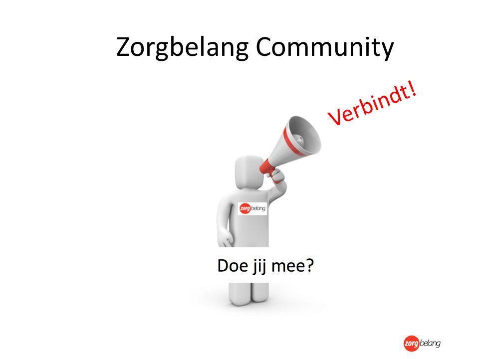 Zorgbelang Community Verbindt!