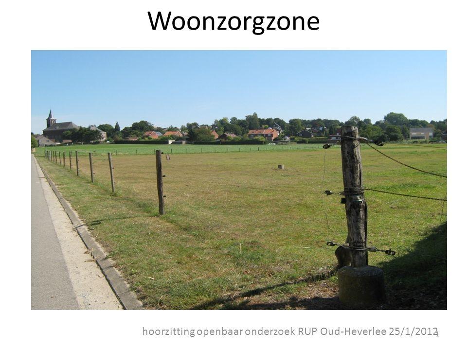 Woonzorgzone hoorzitting openbaar onderzoek RUP Oud-Heverlee 25/1/2012 1