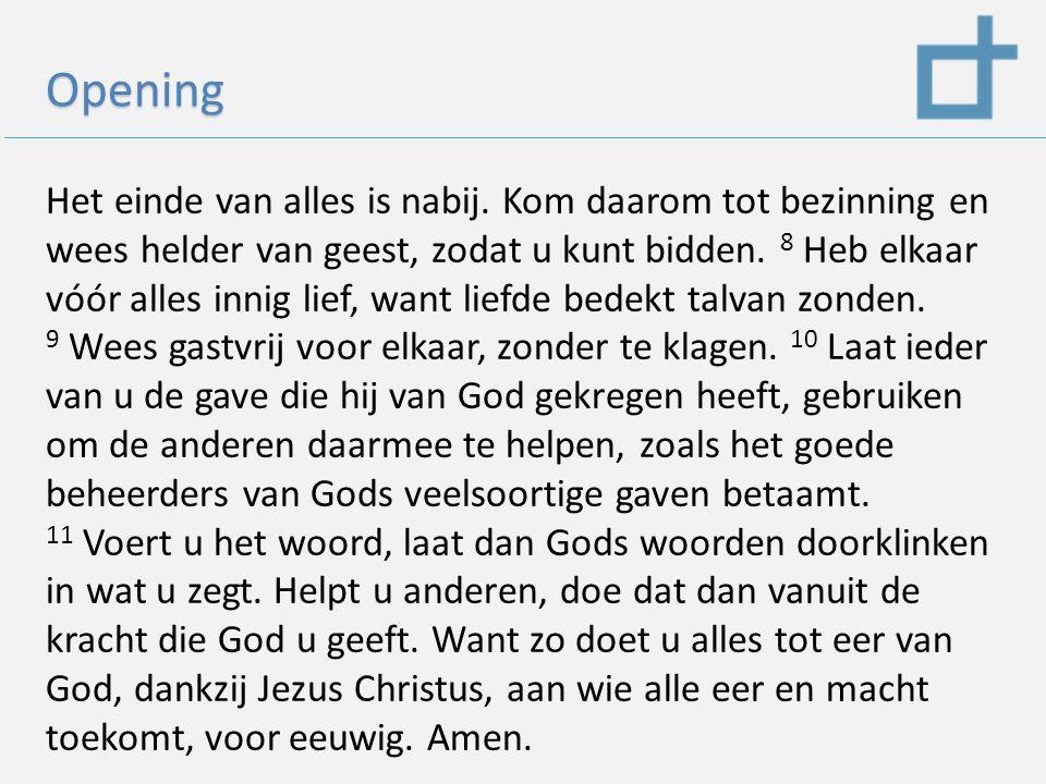 Wat voor kerk is de Ichthuskerk 1) De boodschap waar wij voor gaan 2) Onze traditie en onze missie 3) Hoe zijn wij georganiseerd