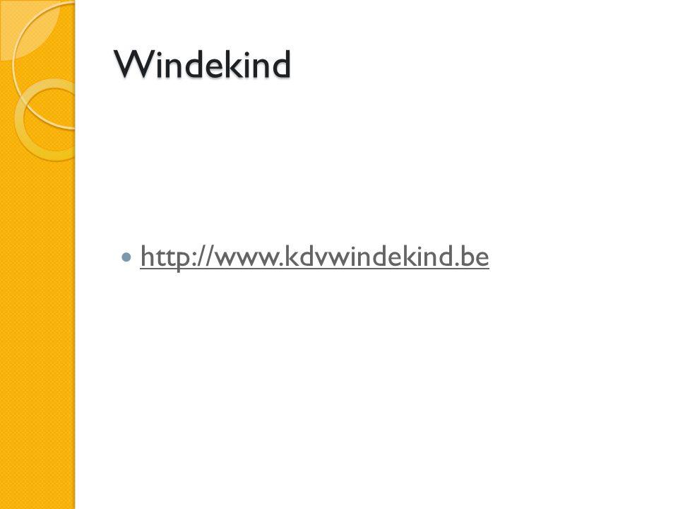Windekind http://www.kdvwindekind.be