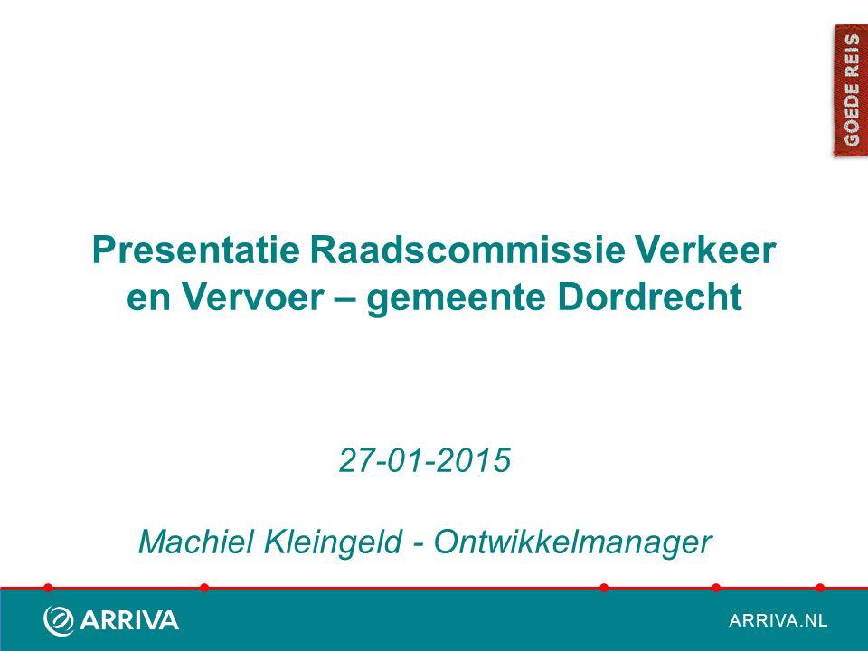 ARRIVA.NL Content  Arriva Nederland  Rolverdeling  Concessie DAV  Enkele Projecten Dordrecht