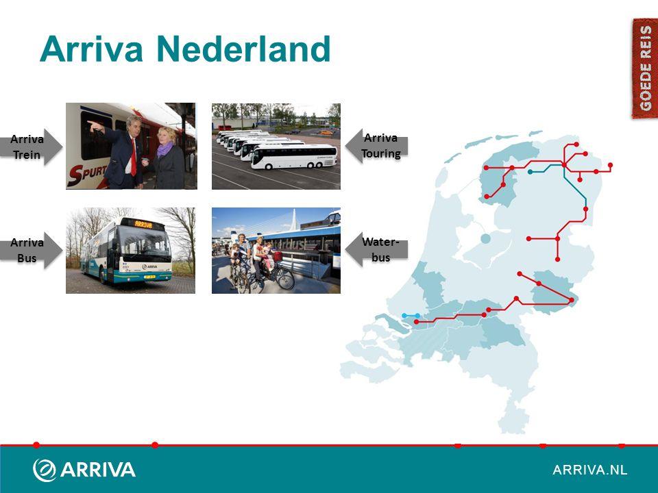 ARRIVA.NL Visie en missie Wat is onze ambitie en ons bestaansrecht.