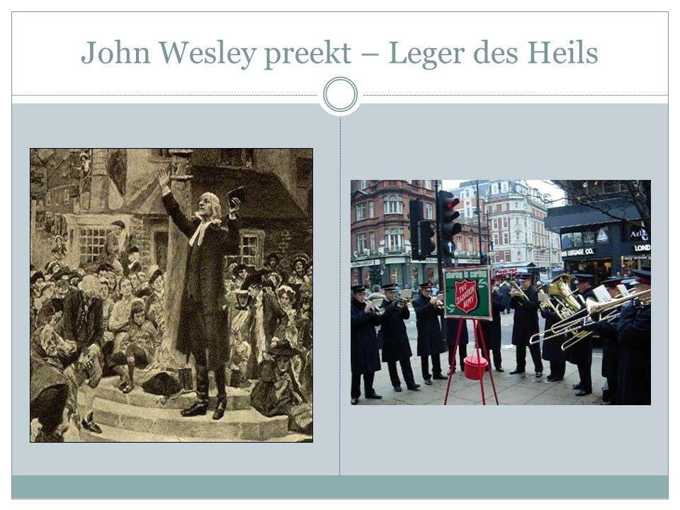 John Wesley preekt – Leger des Heils