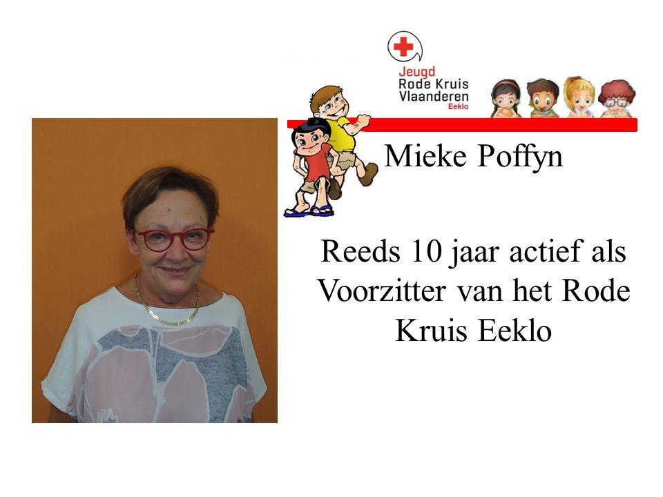 Natasja Lippens Een jaar actief bij het Rode Kruis als hulpverlener en ziekenwagenhulp.