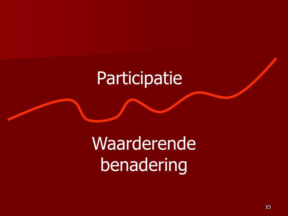 15 Participatie Waarderende benadering 15