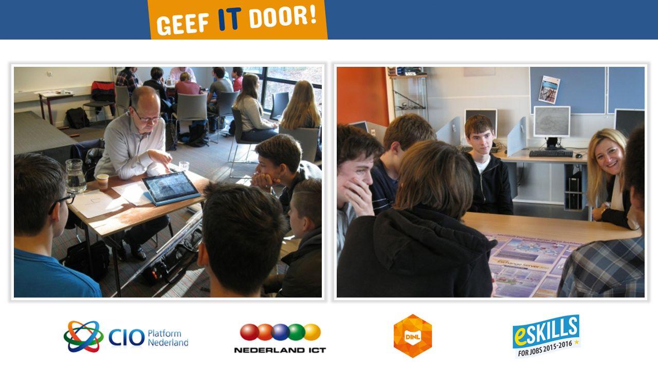 In 2012 waren er in Nederland 265.000 ICT'ers (werkzaam in de ICT-sector en bij gebruikersorganisaties) Nieuw talent is nodig om Nederland aan de top te houden!