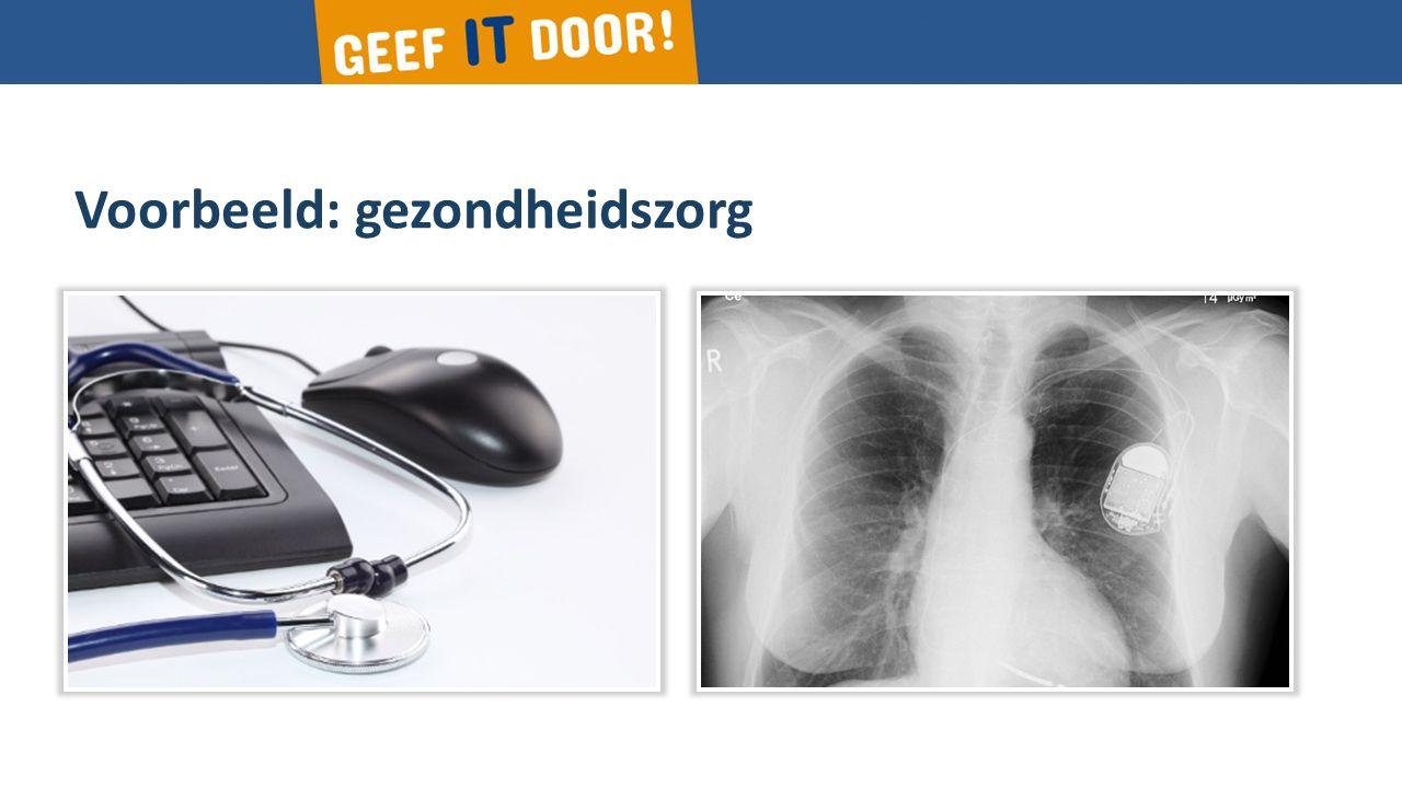 Voorbeeld: gezondheidszorg