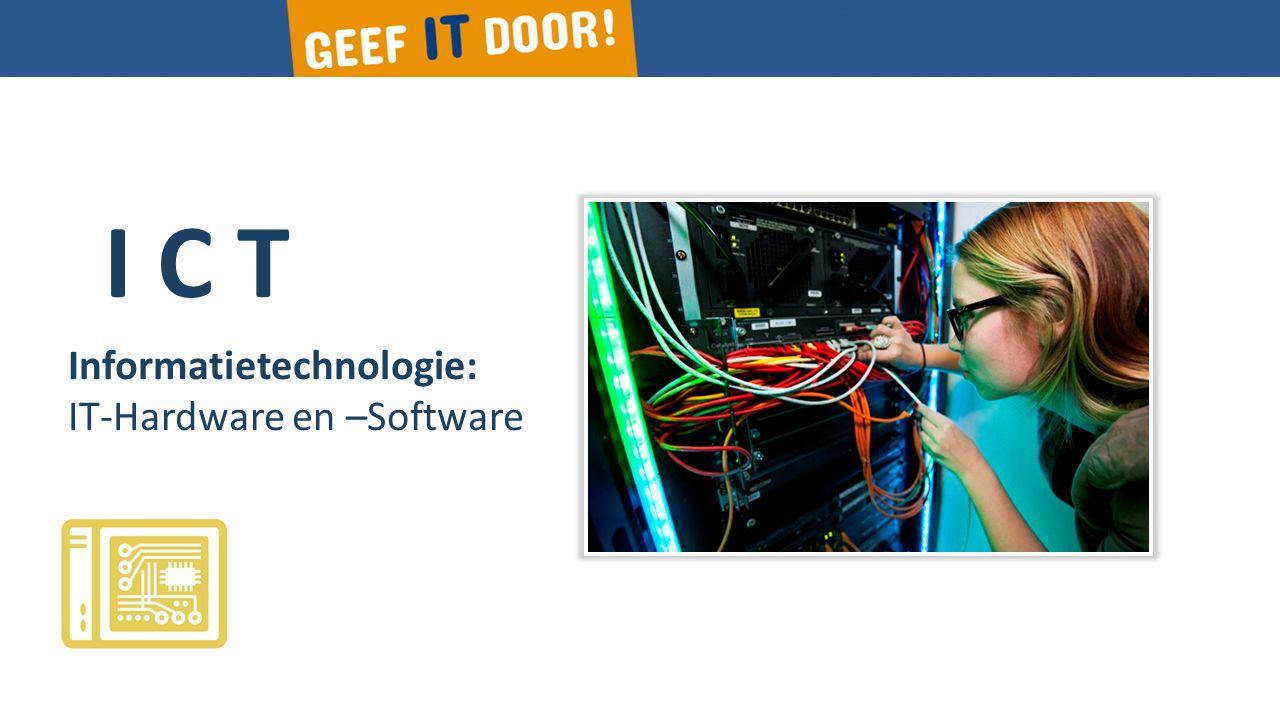 I C T Informatietechnologie: IT-Services