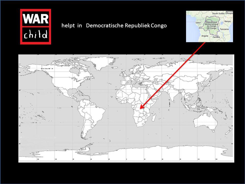 helpt in Democratische Republiek Congo