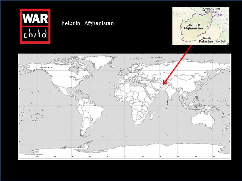 helpt in Afghanistan
