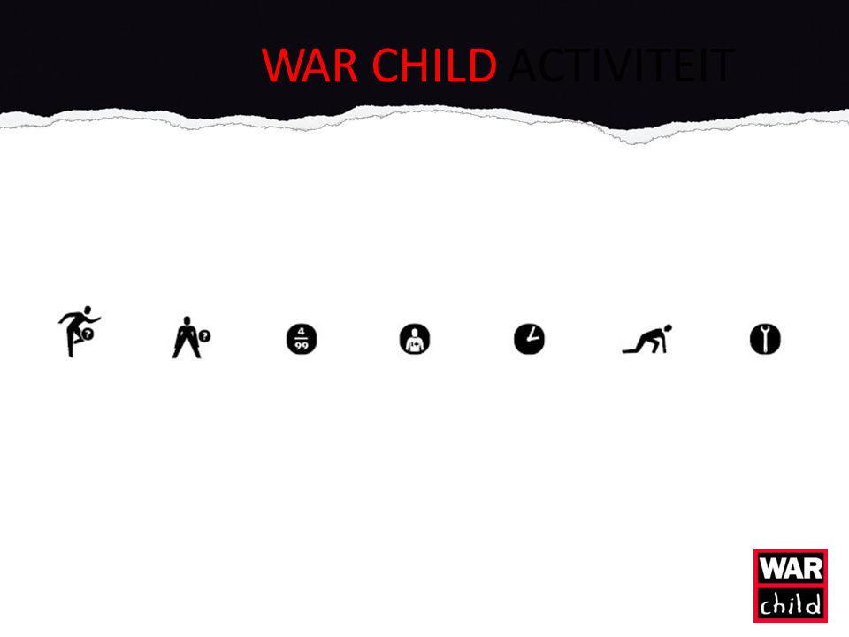 WAR CHILD ACTIVITEIT
