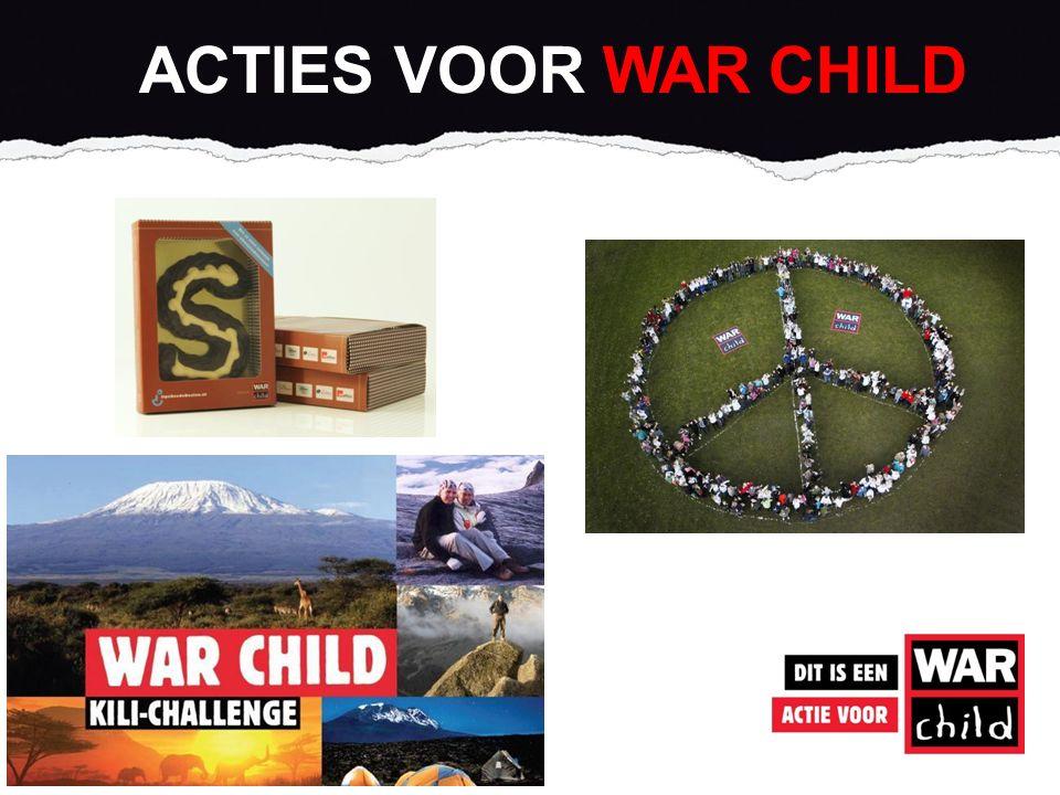 ACTIES VOOR WAR CHILD