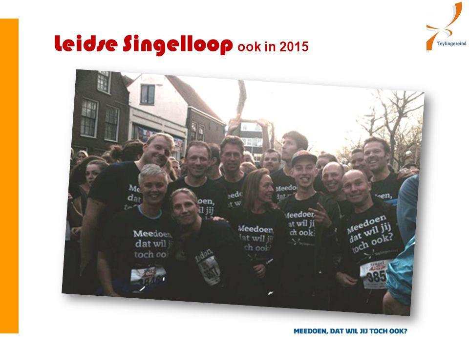Leidse Singelloop ook in 2015