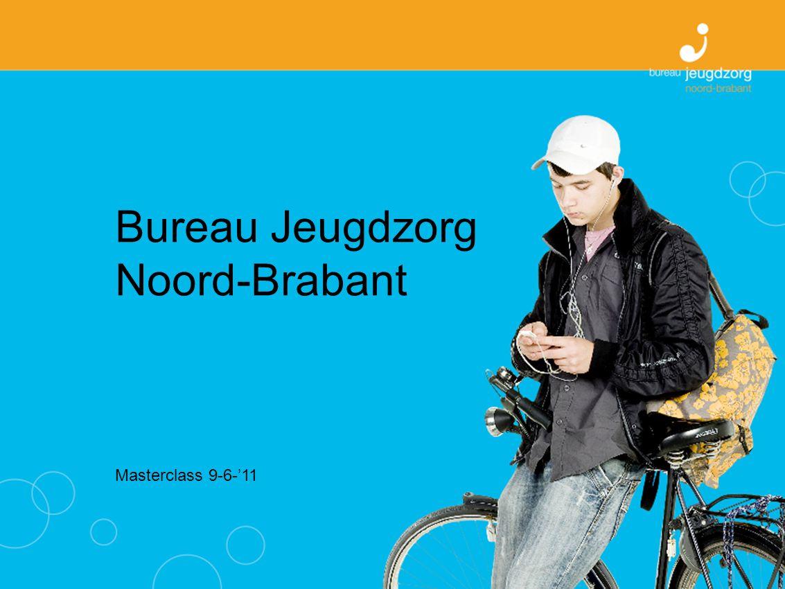 Bureau Jeugdzorg Noord-Brabant Missie en visie BJZ beschermt in hun ontwikkeling bedreigde kinderen en zorgt ervoor dat zij de juiste hulp krijgen.