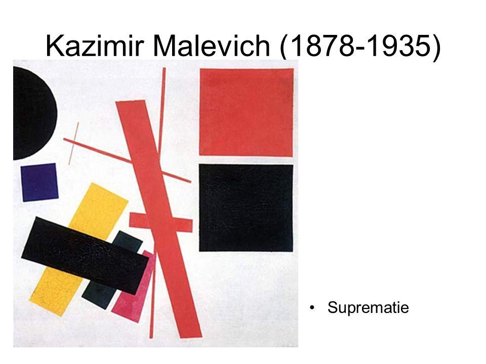 Kazimir Malevich (1878-1935) Suprematie
