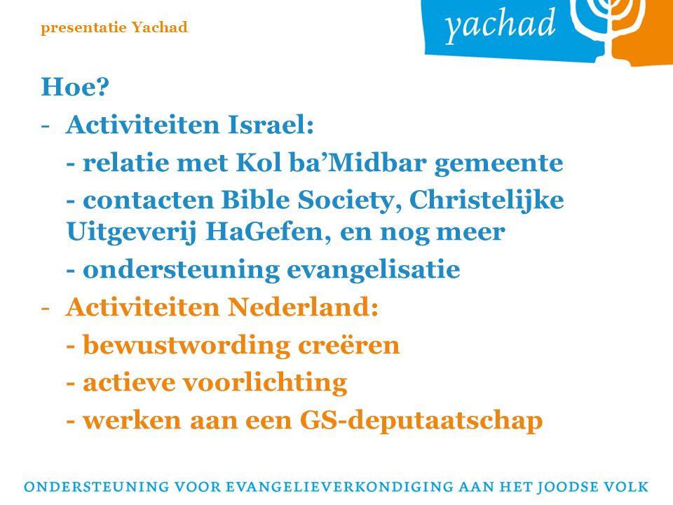 Evangelieverkondiging aan het Joodse Volk: Een OPDRACHT voor héél de kerk!!.