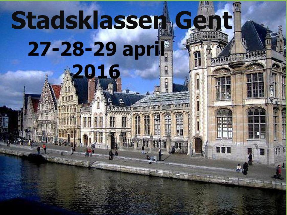 Woensdag 27 april 7.30u:Afspraak aan station.Bagage wordt afgeleverd bij Marc Smekens.