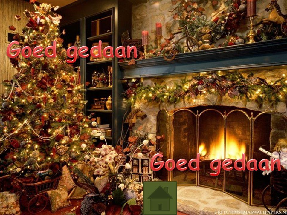 Klik op de vierde kerstster