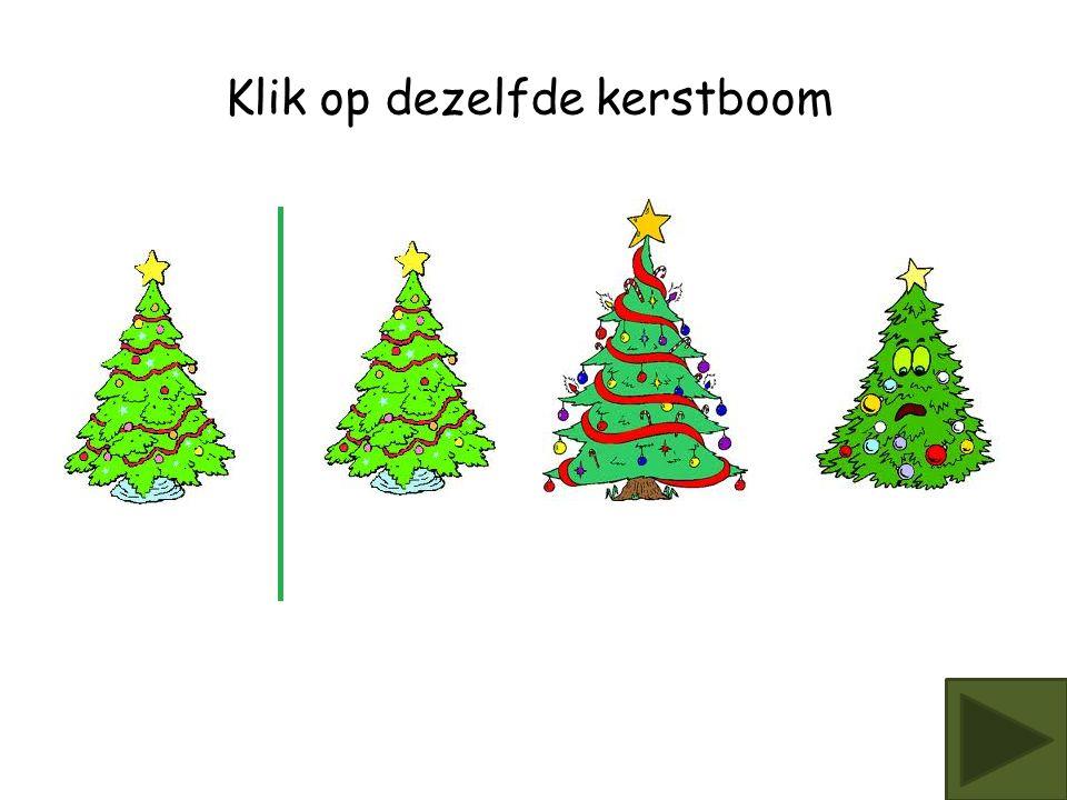 Klik op dezelfde kerstboom