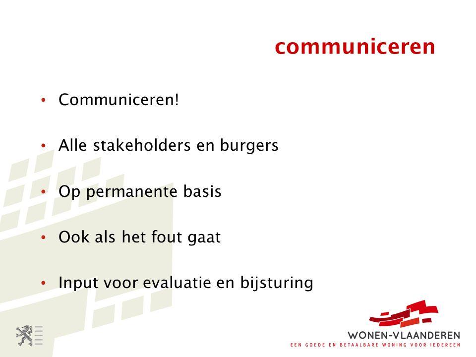 communiceren Communiceren.