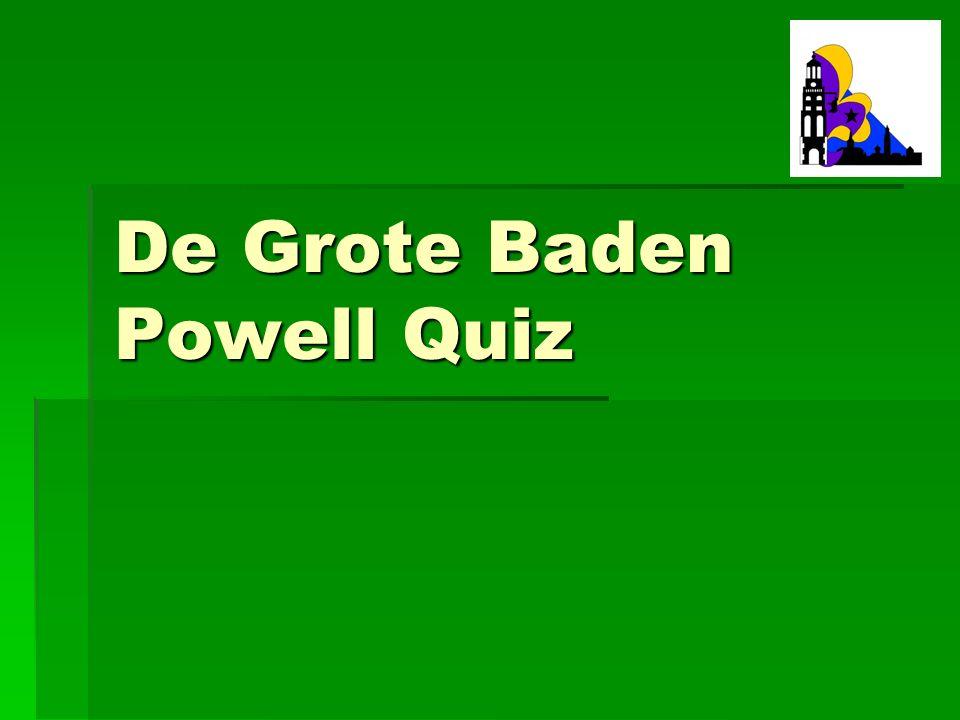 De Grote Baden Powell Quiz