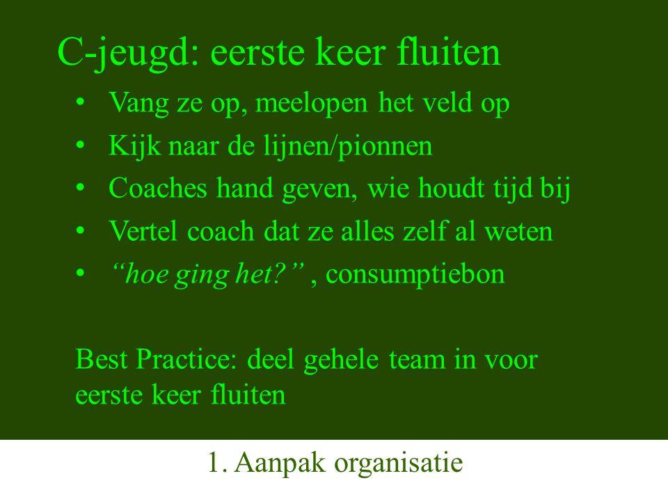 De Spelregel Kennisquiz Vraag 1 (vragen: uit de 3 proefexamens) Voordat de wedstrijd begint zijn er 8 spelers van team A en 11 spelers van team B.