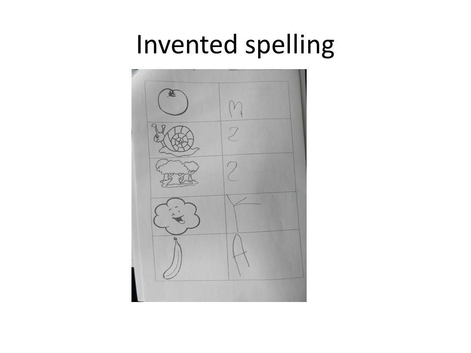Invented spelling