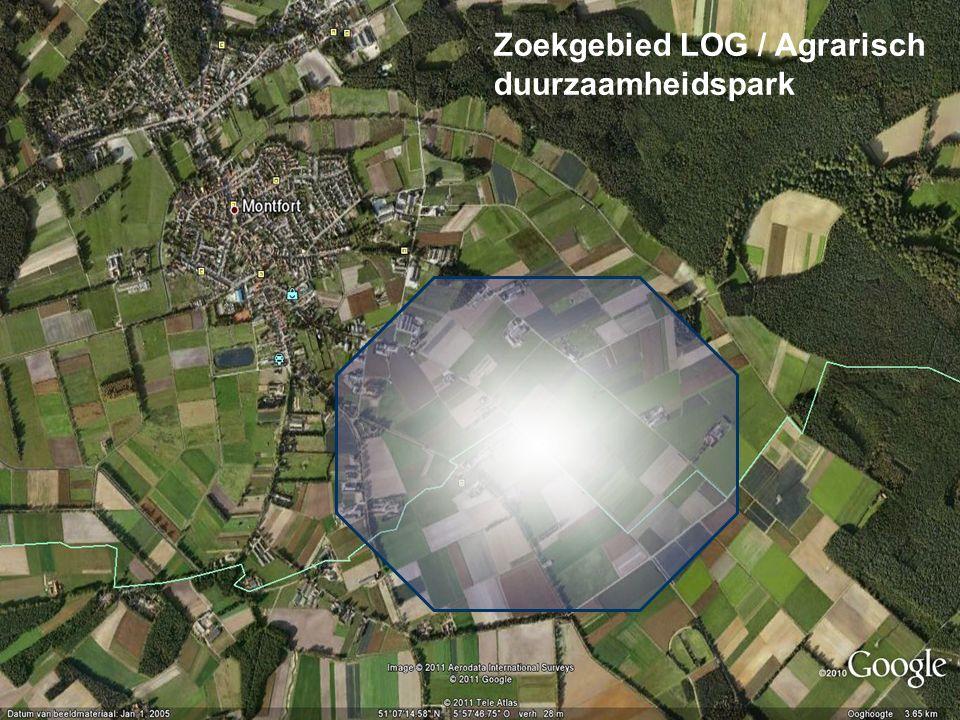 Zoekgebied LOG / Agrarisch duurzaamheidspark
