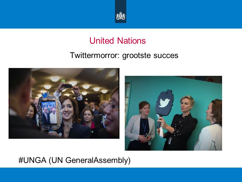 United Nations Twittermorror: grootste succes #UNGA (UN GeneralAssembly)