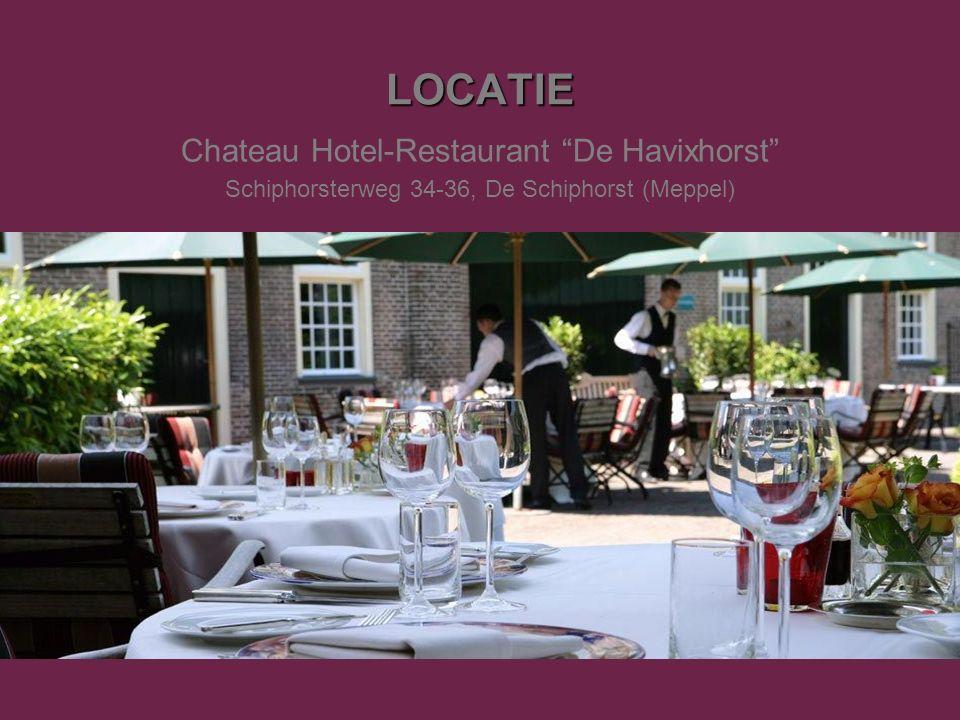 LOCATIE Chateau Hotel-Restaurant De Havixhorst Schiphorsterweg 34-36, De Schiphorst (Meppel)